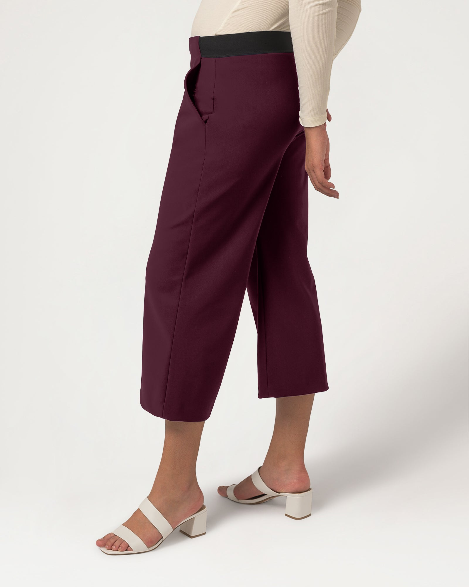 Cream of the Crop Trousers Plum