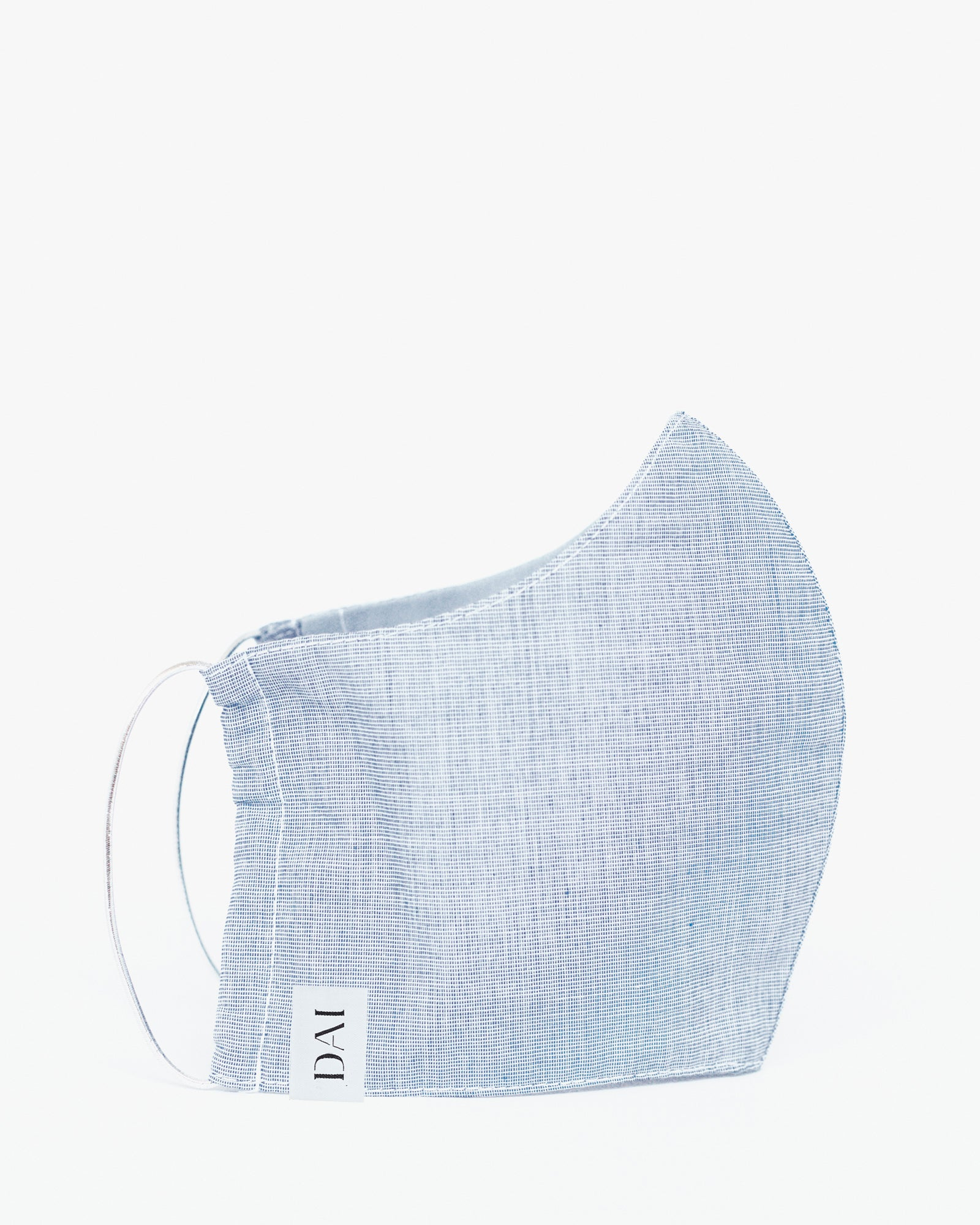 The Off-Duty Mask Cotton Chambray