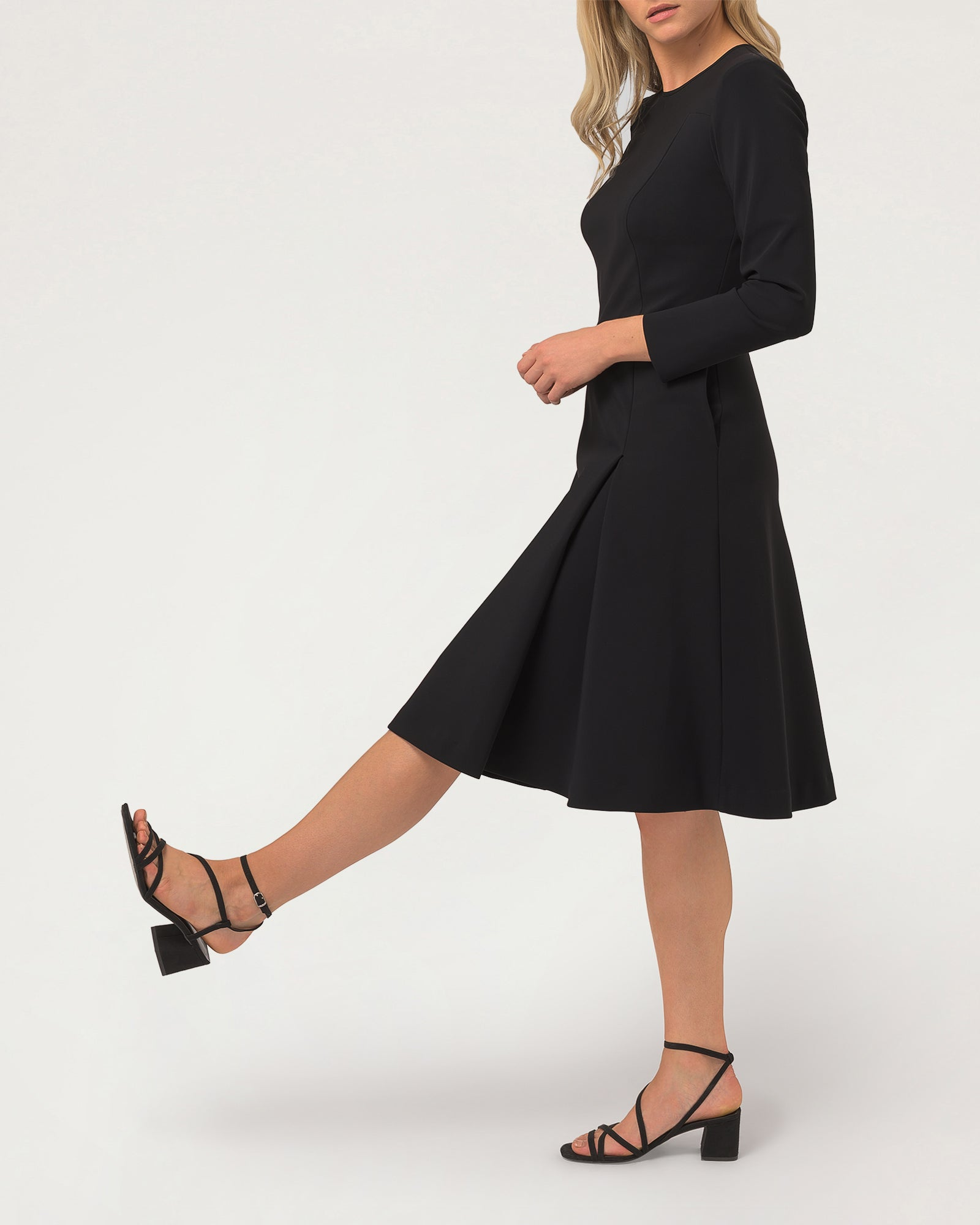 Step To It Dress Black 2.0