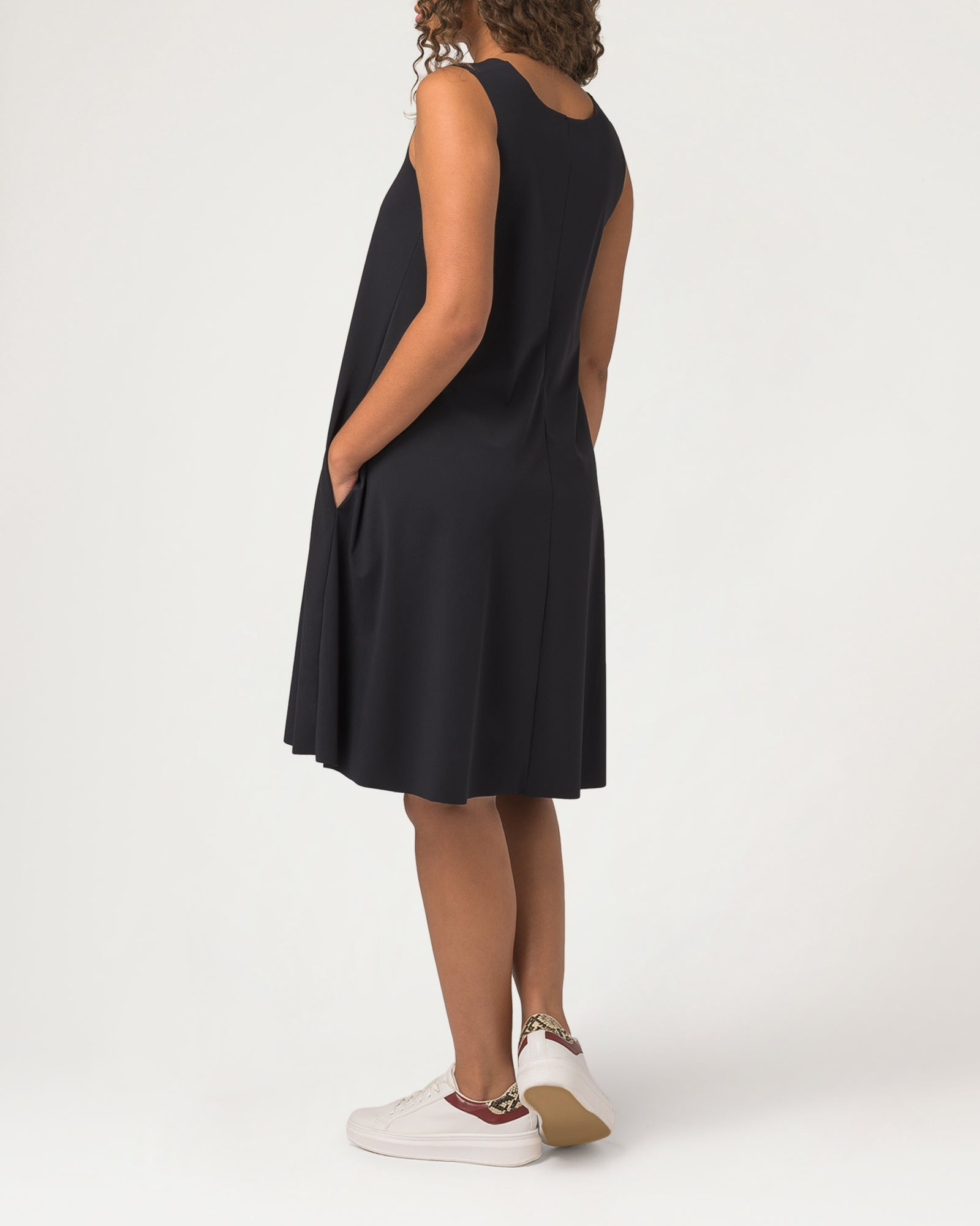 Trapeze-y Dress Black