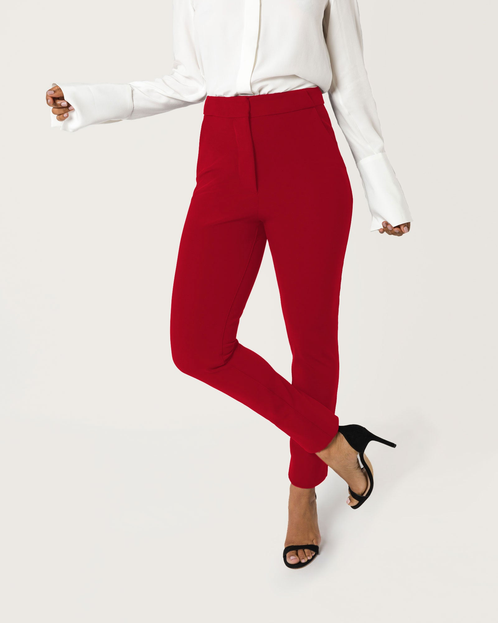High Power Move Trousers Crimson