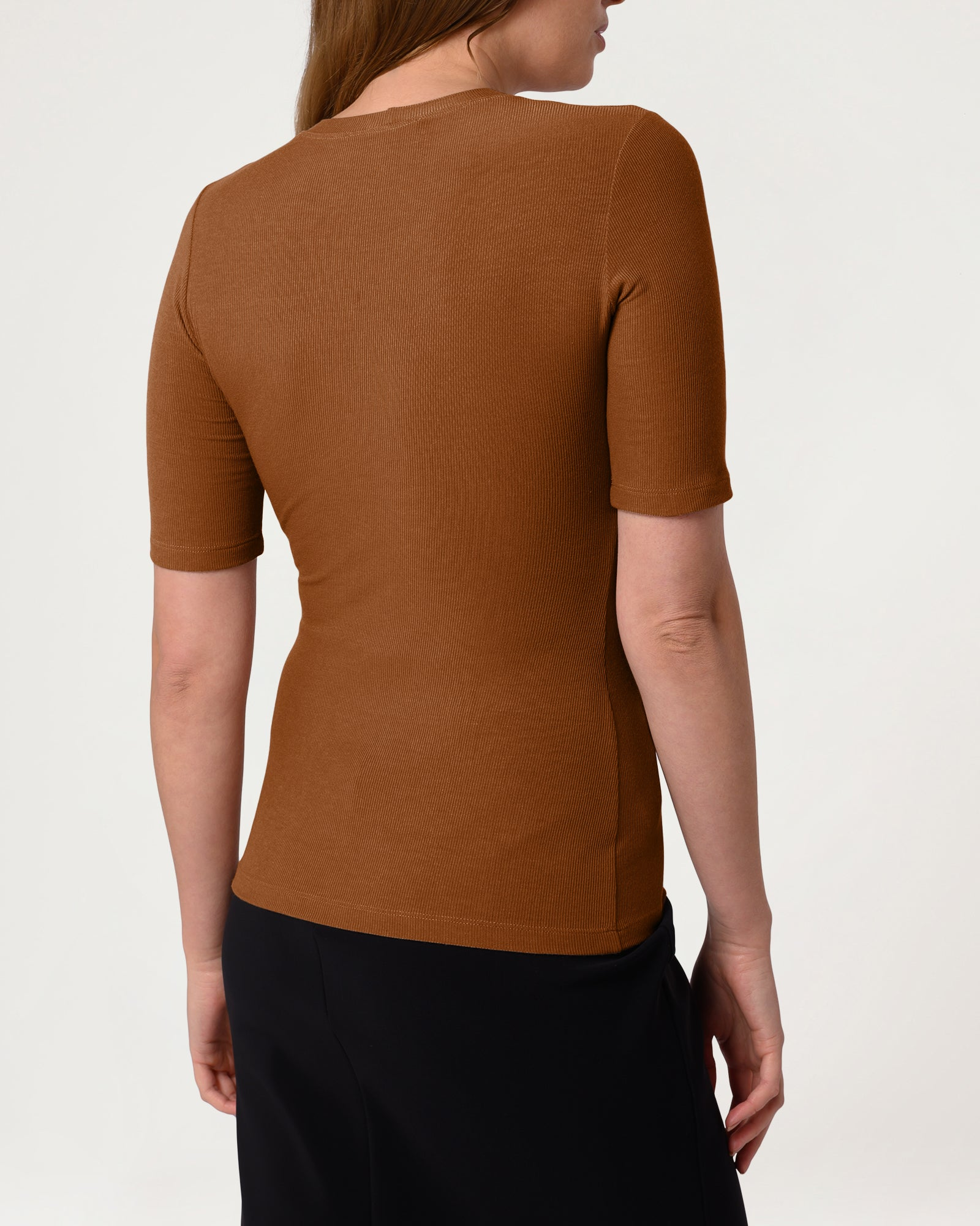 Eco Crew Top Caramel