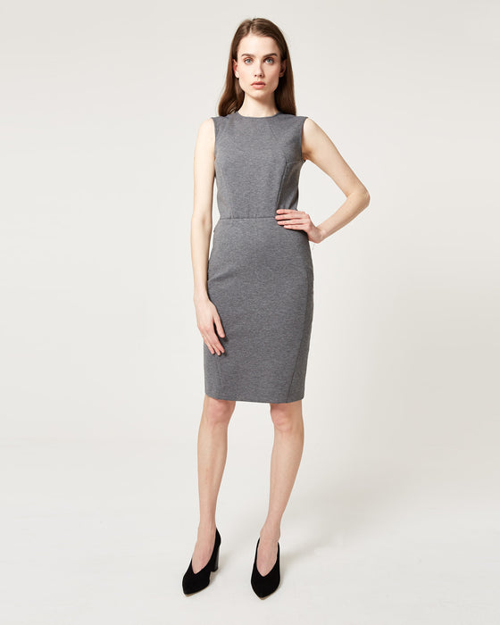 Elemental Dress Melange Grey