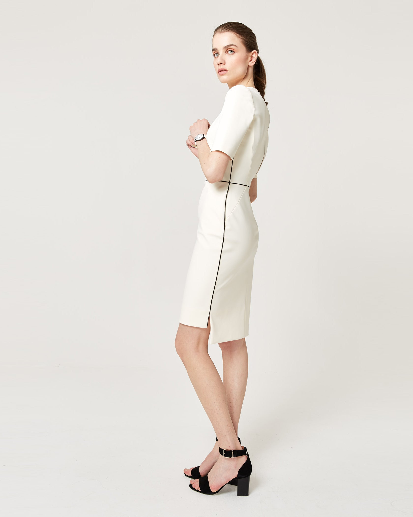 Fundamental Dress Ivory