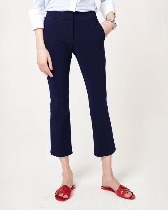 Flare Game Trousers Midnight