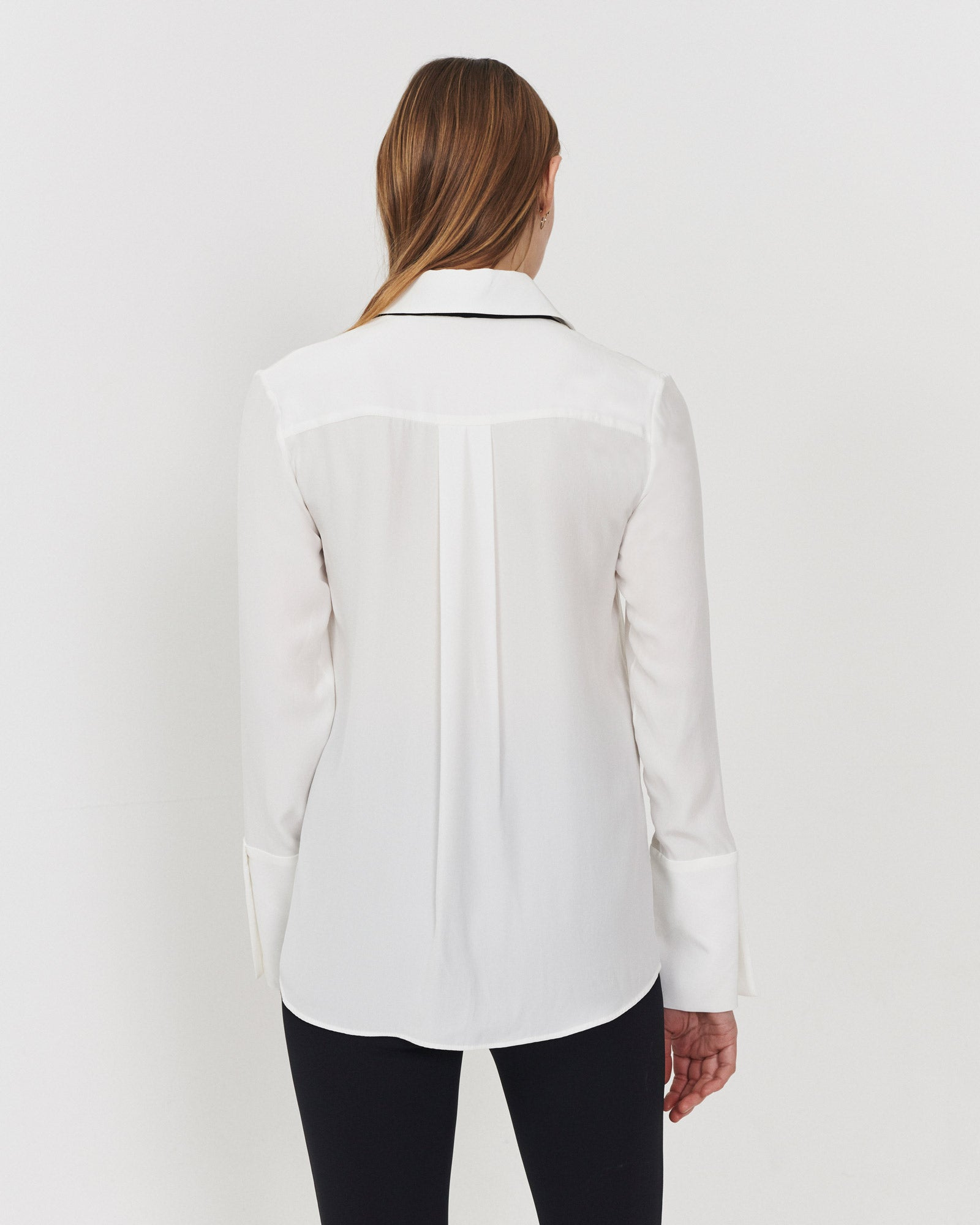 Now and Forever Blouse Ivory Silk 2.0