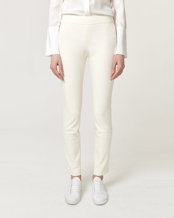 Straight Up Trousers Ivory