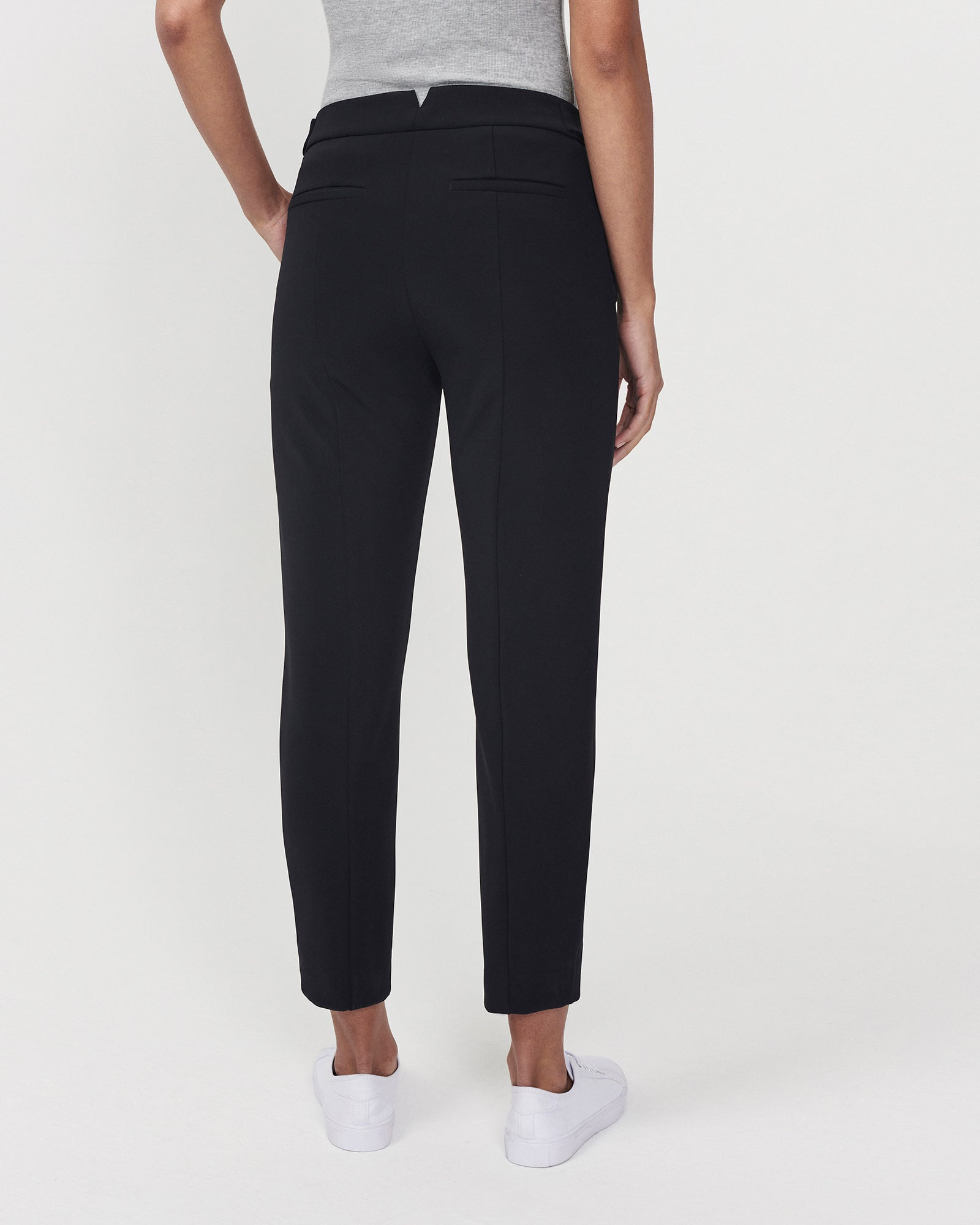 Pegged For Success Trouser Black