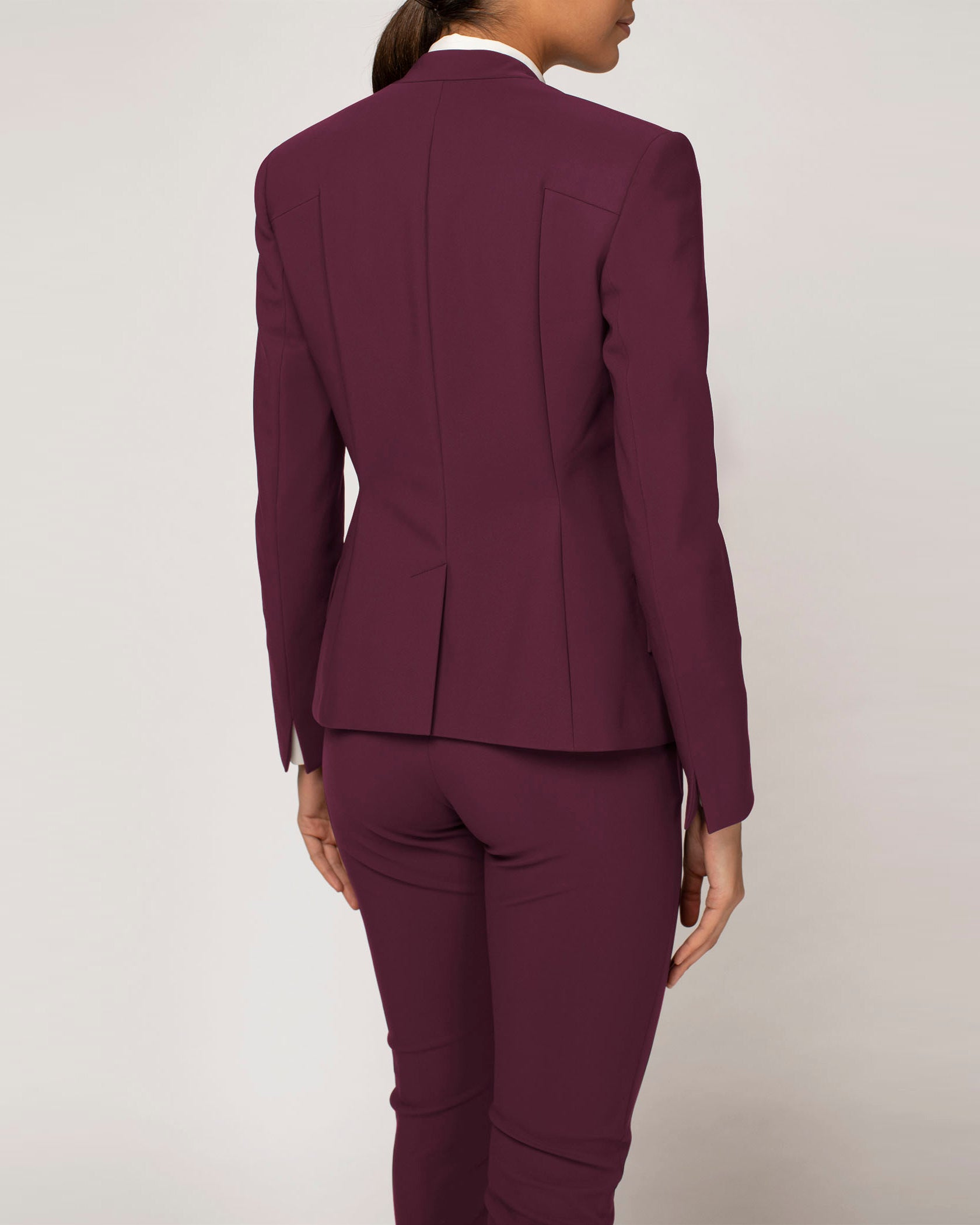 Cutting Edge Blazer Plum