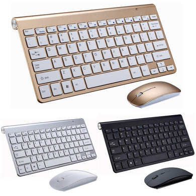 Wireless Keyboard Mouse Mini For Notebook