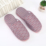 Leisure home warm cotton slip-proof thick bottom slippers