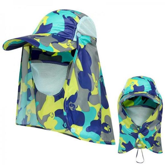 Sun protection mountaineering fishing hat
