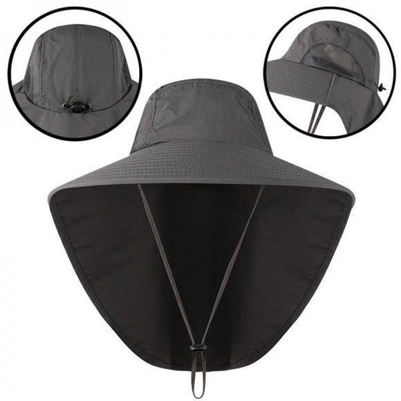 Outdoor fisherman hat men and women summer sunscreen quick-drying