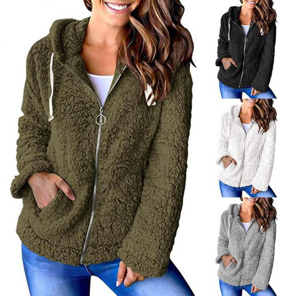 Fashion explosion fleece sweater