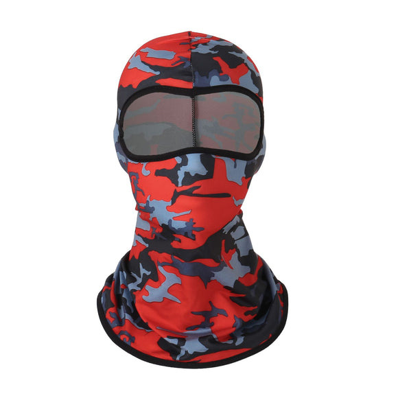 Riding mask camouflage headgear