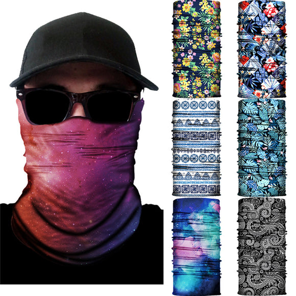 3D Multifunction Seamless Motorcycle Balaclava Magic Neck Face Mask