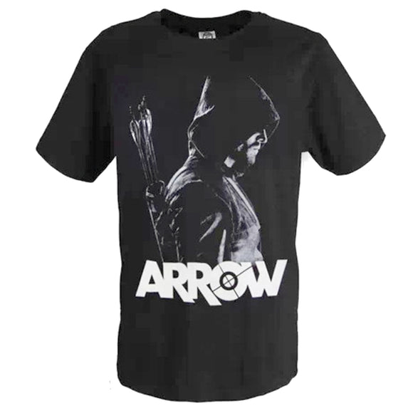 Arrow T-shirt clothes ARROW short sleeve black round neck super washable