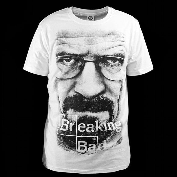 Breaking Bad T-shirt Clothes Walter White Avatar Pure Cotton & Lycra fabric