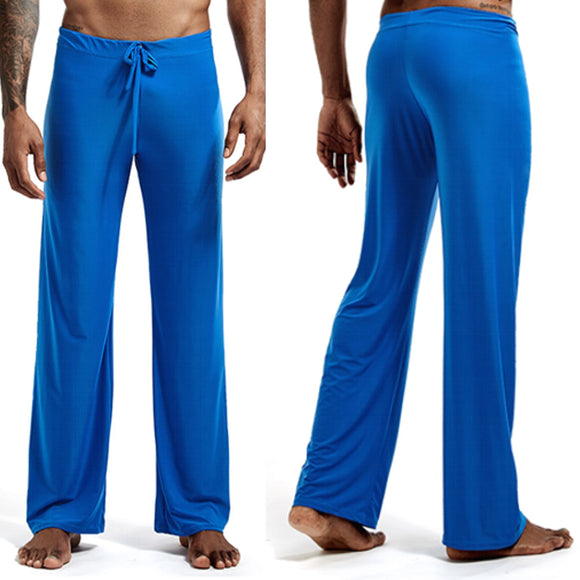 Sexy loose tie trousers comfortable home fitness yoga