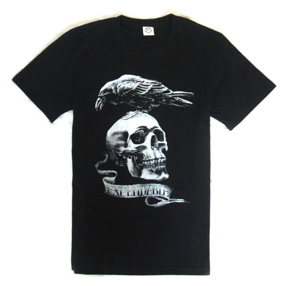 The Expendables 2 Stallone Skull Eagle T-shirt Expendables Clothes Black