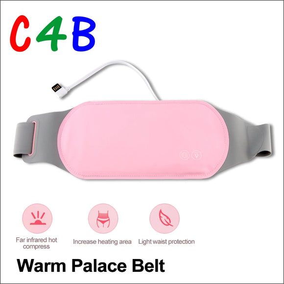 Warm Palace Belt Heating Belt Big Aunt Artifact Warm Belly Cold Treatment