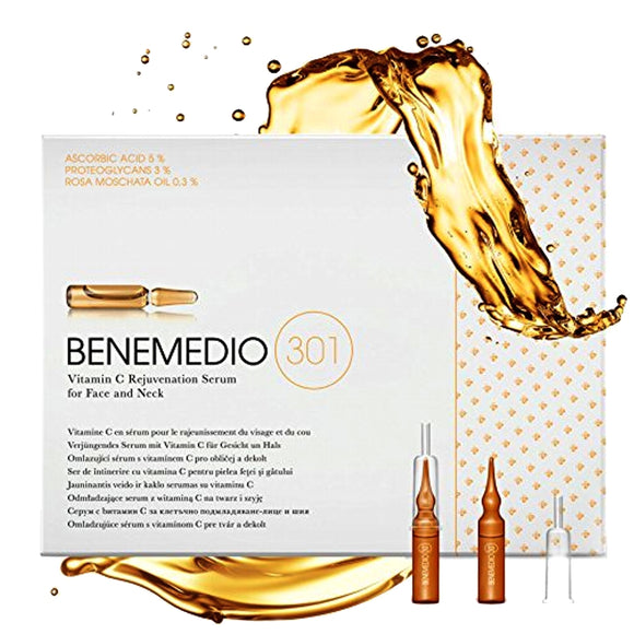 Benemedio 301 Vitamin C Rejuvenation Serum for Face and Neck
