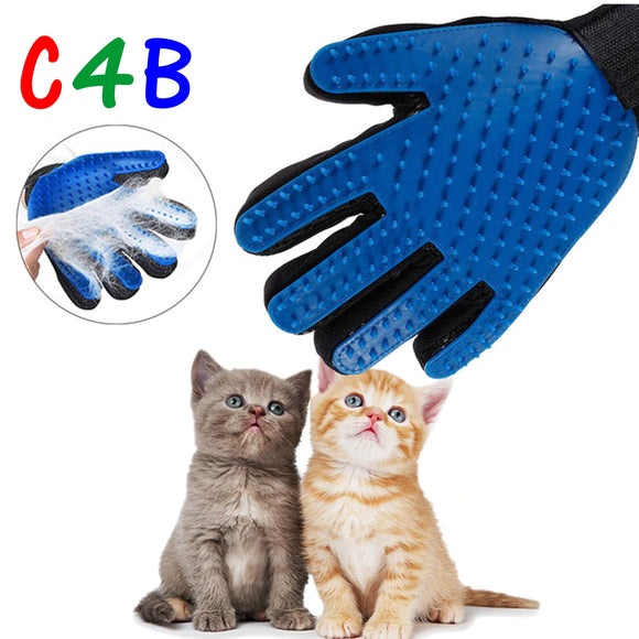 1PC Cat Hair Remove Gloves Cat Grooming Glove Pet Dog Cleaning Deshedding  Brush Gloves Effective Massage Dog Combs