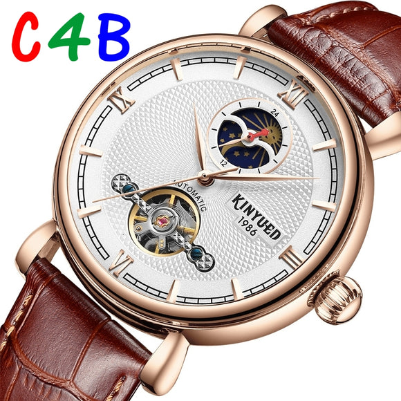 James Mechanical Automatic Classic Watches