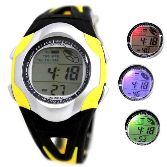 DW313J Date Alarm Digital Watch Yellow-WATCHES-Come4Buy eShop