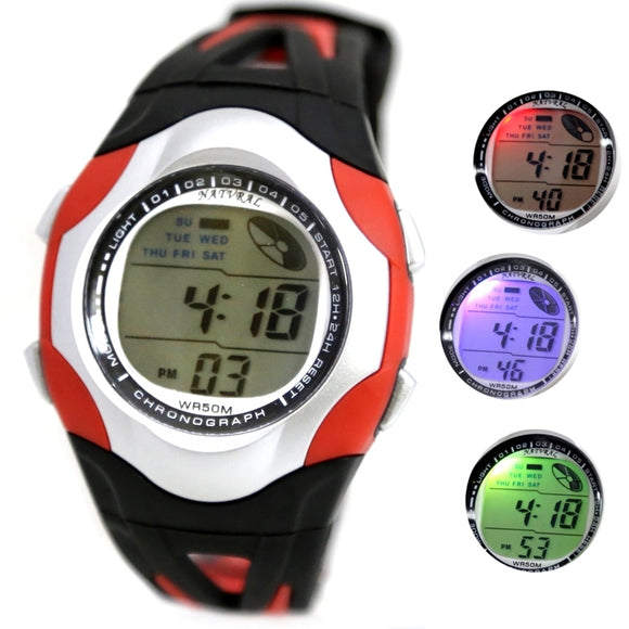 DW313K Date Alarm Red Digital Watch-WATCHES-Come4Buy eShop