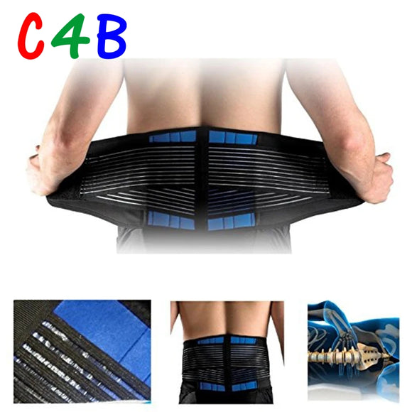 Pull Lumbar Support Lower Back Belt therapy Pain