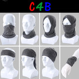 Cationic Fabric Balaclava Motorcycle Half Face Mask Neck Guard Scarf Ski Biker Snowboard Warm Tube  Shield Bandana Headband