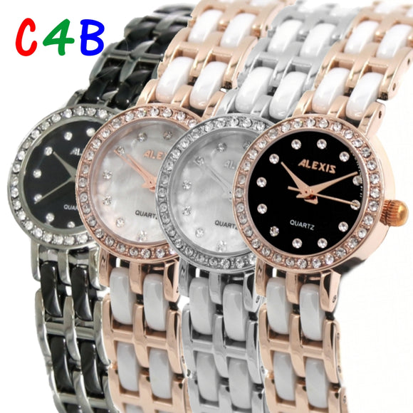 Ladies Ceramic Bracelet Watch FW862