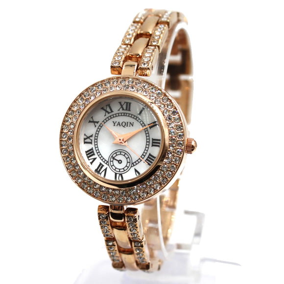 FW942A Rose Gold + PNP Band Rose Gold + PNP Watchcase White Dial Bracelet Watch-WATCHES-Come4Buy eShop