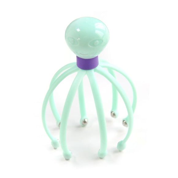 Head Massager Neck Massage Octopus Scalp Stress Relax Spa Healing Alloy Health Care Tool Body Head Massage Beauty Tool
