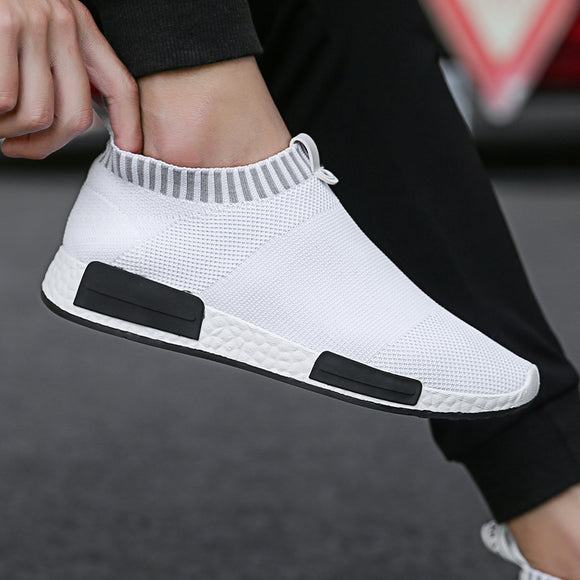 New Fashion Classic Shoes Men Shoes Women Flyweather Comfortable Breathabl Non-leather Casual Lightweight Shoes