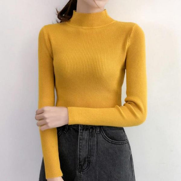 Cotton Thermal Knit Sweater