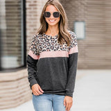 Leopard T shirt Spring Top Tees