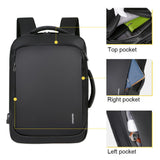 Litthing Laptop Backpack Mens Male Backpacks Business Notebook Mochila Waterproof Back Pack USB Charging Bags Travel Bagpack