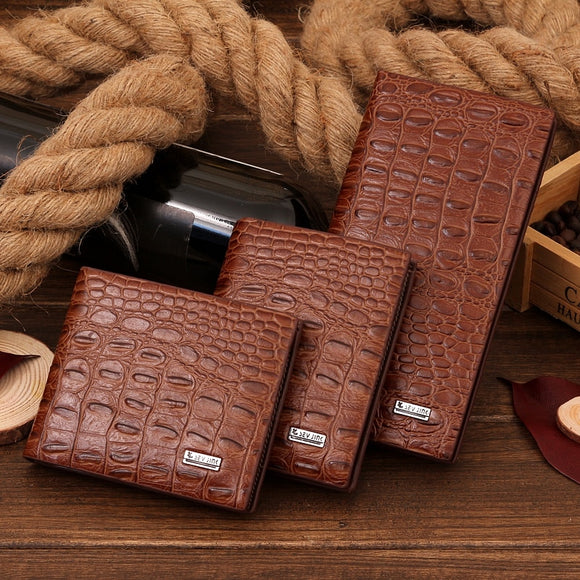 Crocodile Pattern Wallet
