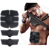 ABS Trainer Muscle Stimulator, Abdominal Exerciser Equipment Stomach Exerciser EMS Muscle Toner