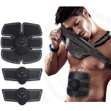 Muscle Stimulator Hips Muscle Trainer Abs EMS Wireless Smart Abdominal Muscle Toner Home Gym Workout Machine For Men Women