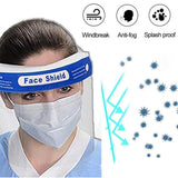Anti-fog Dustproof Goggle Mask for Outdoor Transparent Safety Face Shield Clear Flip-up Visor Glasses Eye Full Face Protector