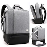 Litthing Mens Backpack Laptop Backpacks Anti Theft Male Business Bags Notebook Trip Back Pack Office Women Travel Bagpack