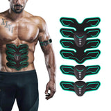 EMS Abdominal Electro Stimulator Abs Trainer Muscle Toning Belts Home Workout Fitness Device Training Gear Electroestimulador