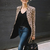 Women Jackets Fall Women Fashion Leopard Printed Sexy Winter Warm Wide Female Jackets Wind Coat Cardigan Long Cardigan Coat-Women Jacket-Come4Buy eShop