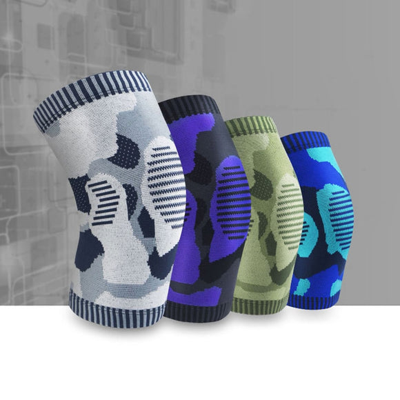 Fitness Running Cycling Knee Support Braces Elastic Nylon Sport Compression Knee Pad Sleeve for Basketball Volleyball-[product_type]-Come4Buy eShop