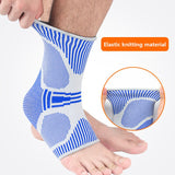 3D Sport Ankle Brace Protector Compression Ankle Support Pad Elastic Nylon Strap Brace for Football Basketball-[product_type]-Come4Buy eShop