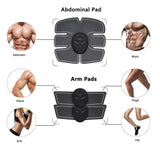 EMS Hip Trainer Muscle Stimulator ABS Fitness Lifting Buttock Abdominal Trainer Fitness Weight loss Body Slimming Massage Set
