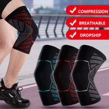 Fitness Elastic Nylon Compression Basketball KneePad Running Cycling Knee Support Sports Braces Sleeve Volleyball Protect-[product_type]-Come4Buy eShop